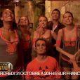 """""""Les Miss ont envahi le fort dans Fort Boyard Halloween, le mercredi 31 octobre 2012 sur France 2"""""""