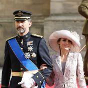 Mariage au Luxembourg : Letizia d'Espagne au bras du fier prince Felipe