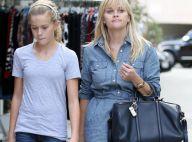 Reese Witherspoon en forme(s) : Journée shopping avec Ava, son portrait craché