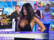 Hollywood Girls 2 - Le Mag : Ayem, très décolletée, joue les mannequins sexy