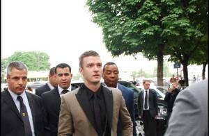 PHOTOS : Justin Timberlake trop chic à la soirée Givenchy !