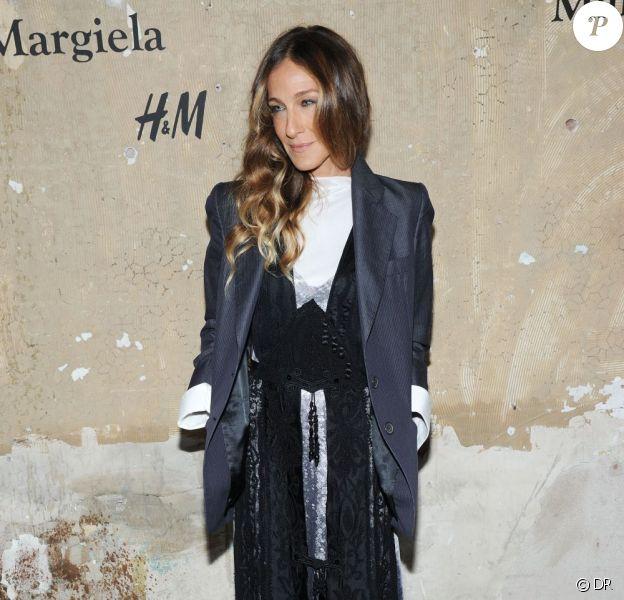 Sarah Jessica Parker  à la soirée H&M et Maison Martin Margiela à New York