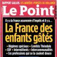 La Une du magazine  Le Point  du 25 octobre 2012.