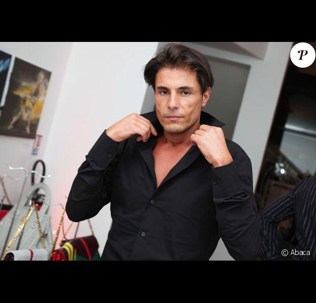 Giuseppe lors de la soirée d'inauguration du Janally Paris - One Shot, un nouveau concept store à Paris, le 10 octobre 2012.