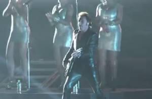 Johnny Hallyday, bête de scène : Moscou à ses pieds lors d'un concert historique