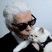 Karl Lagerfeld complètement dingue de Choupette : ''Elle me fait rire''