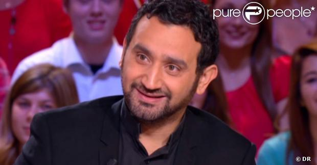 Cyril Hanouna sur le plateau du Grand Journal sur Canal +, le 26 octobre 2012.