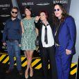 Jack Osbourne, Lisa Stelly, Sharon Osbourne, Ozzy Osbourne à la première de  Total Recall  à Los Angeles, le 1er août 2012.