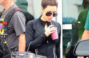 Kim Kardashian prend soin de ses formes : Sport intensif à Miami