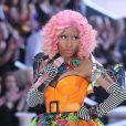 Nicki Minaj lors du défilé Victoria's Secret à New York, le 9 novembre 2011.
