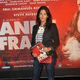 Cristiana Reali lors de la première de la pièce Le Journal d'Anne Frank dans laquelle joue son ex-compagnon Francis Huster, le 11 septembre 2012
