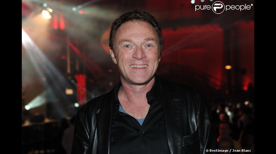 """Christophe Hondelatte lors de la soirée """"Radio FG fête ses 20 ans"""" au Grand Palais à Paris le 5 Avril 2012."""