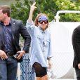 Lady Gaga arrive à Rio de Janeiro le 7 novembre 2012.