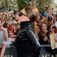 Lady Gaga sur les Champs-Élysées pour le lancement de son parfum  Fame , à Paris, le  23 setembre 2012.