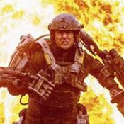 Tom Cruise : Méconnaissable dans son armure pour ''All You Need Is Kill''