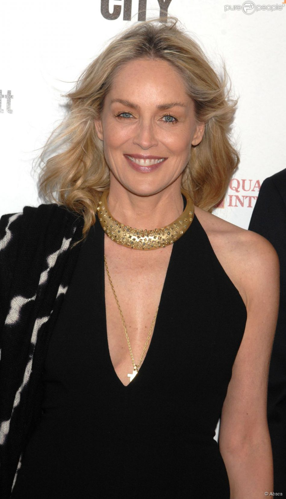 Sharon Stone à Los Angeles le 3 mai 2012