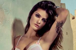 Isabeli Fontana, à moitié nue après le défilé Victoria's Secret