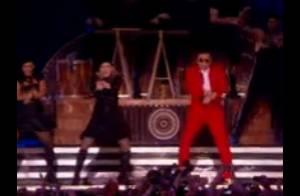 Madonna danse avec Psy : La consécration du Gangnam Style !