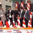 Les One Direction sur le plateau de l'émission Today à New York le 13 novembre 2012.