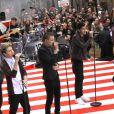 Les One Direction à l'émission The Today Show à New York le 13 novembre 2012.