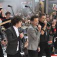 Les One Direction chantent à l'émission The Today Show à New York le 13 novembre 2012.