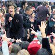 Les One Direction participent à l'émission The Today Show à New York le 13 novembre 2012.