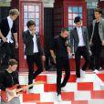 Les One Direction lors de l'émission The Today Show à New York le 13 novembre 2012.