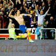 Zlatan Ibrahimovic pouvait exhulter après une partie mémorable face à l'Angleterre à la Friends Arena de Solna en inscrivant un quadruplé dont un retourné accrobatique des 30 mètres en fin de match le 14 novembre 2012