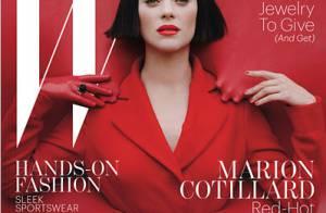 Marion Cotillard, glamour, sensuelle et décalée : 'Je fais trop de couvertures'