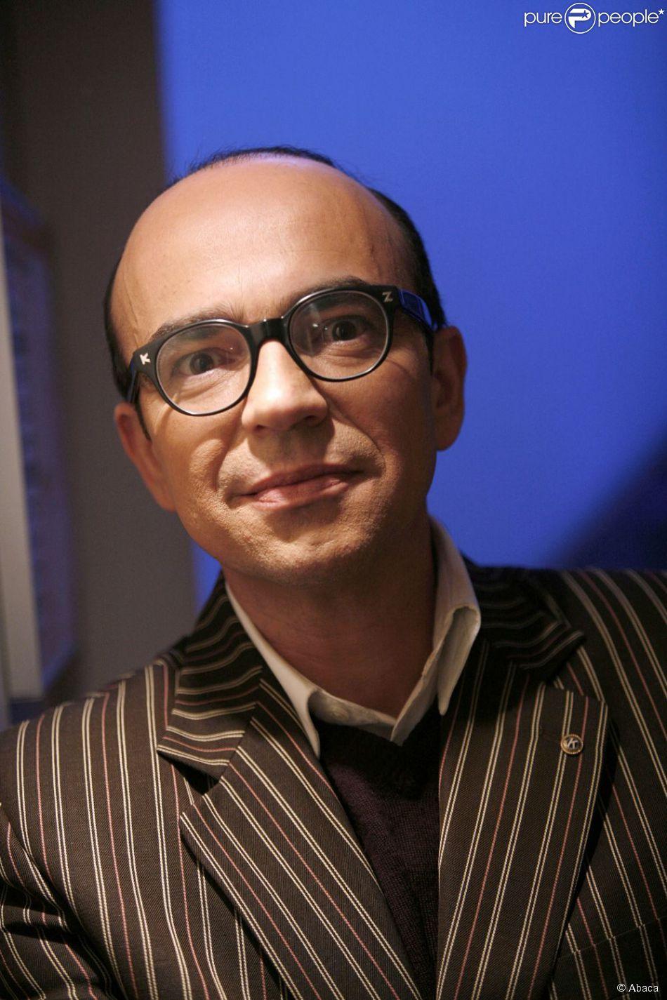 Karl Zéro lors d'un enregistrement à Saint-Denis le 18 décembre 2007