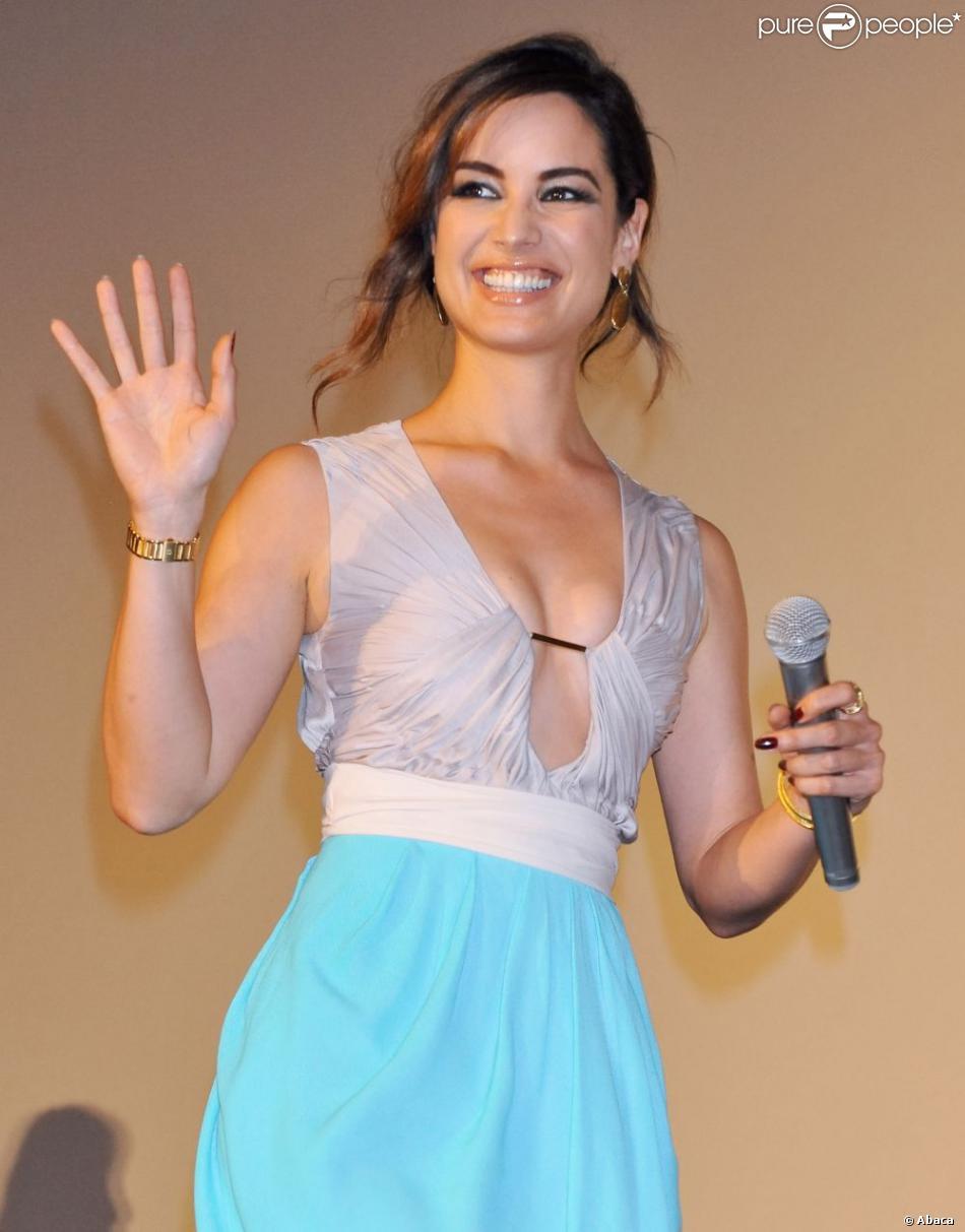 Bérénice Marlohe lors d'une projection de Skyfall à Tokyo le 19 novembre 2012
