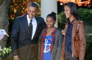 Barack Obama : Ses filles Malia et Sasha l'épaulent avec grâce pour Thanksgiving
