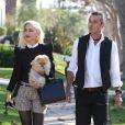 Thanksgiving se fête et Gwen Stefani applique la tradition à la règle, arrivant chez ses parents en compagnie de son mari Gavin Rossdale et de leurs deux garçons Kingston (6 ans) et Zuma (4 ans). Los Angeles, le 22 novembre 2012.