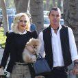Gwen Stefani se rend chez ses parents en compagnie de son mari Gavin Rossdale pour célébrer Thanksgiving. Los Angeles, le 22 novembre 2012.