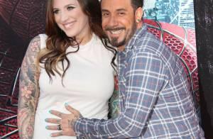 A.J. McLean des Backstreet Boys papa : la petite Ava s'est fait attendre...