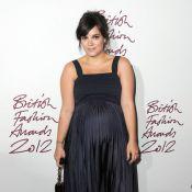 Lily Allen : Enceinte de huit mois et resplendissante aux British Fashion Awards