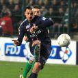 Zlatan Ibrahimovic lors du match entre Saint-Etienne et le Paris Saint-Germain (0-0, 5-3 aux t.a.b) à Saint-Etienne au Stade Geoffrey-Guichard le 27 novembre 2012