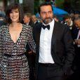Mélanie Doutey et Gilles Lellouche lors de la cérémonie de clôture du Festival de Cannes
