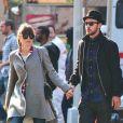 """Jessica Biel et Justin Timberlake, jeunes mariés, vont au cinéma voir le film """"Skyfall"""" à New York, le 11 novembre 2012."""