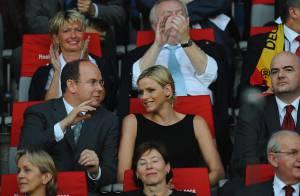 PHOTOS : Le prince Albert et Charlene, fous de foot !