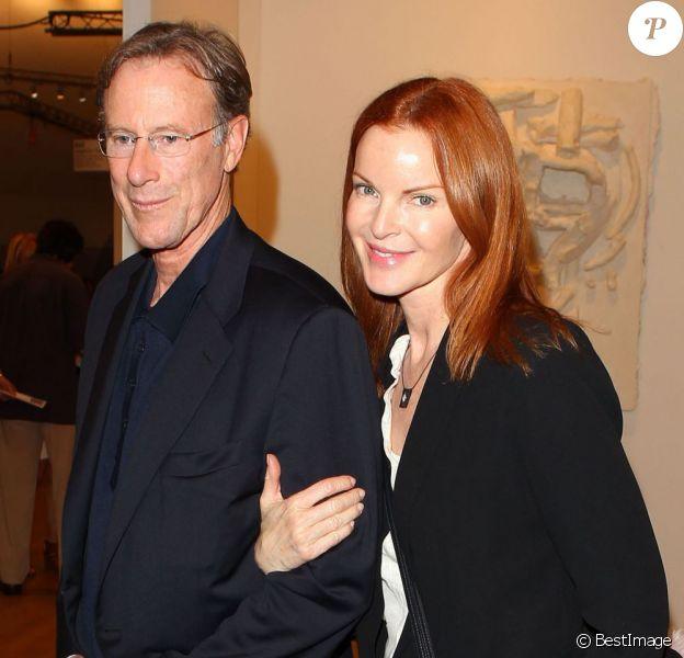 """Marcia Cross et son mari Tom Mahoney à la soirée """"Art Basel Miami Beach 2012"""" à Miami, le 5 decembre 2012"""
