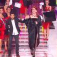 Gad Elmaleh et Jamel Debbouze lors de l'élection de Miss France 2013 le samedi 8 décembre 2012 sur TF1 en direct de Limoges.