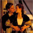 Leonardo DiCaprio et Kate Winslet vedettes légendaires du Titanic de James Cameron.