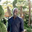 Omar Sy à Los Angeles pour un photocall le 2 octobre 2012
