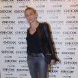 Emmanuelle Béart à la soirée Geox pour L'Unicef