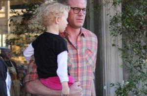 Rebecca Gayheart et Eric Dane : Sortie au restaurant avec Billie