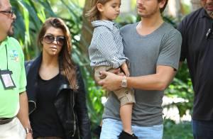 Kourtney Kardashian : Journée au zoo et fête d'anniversaire pour son fils