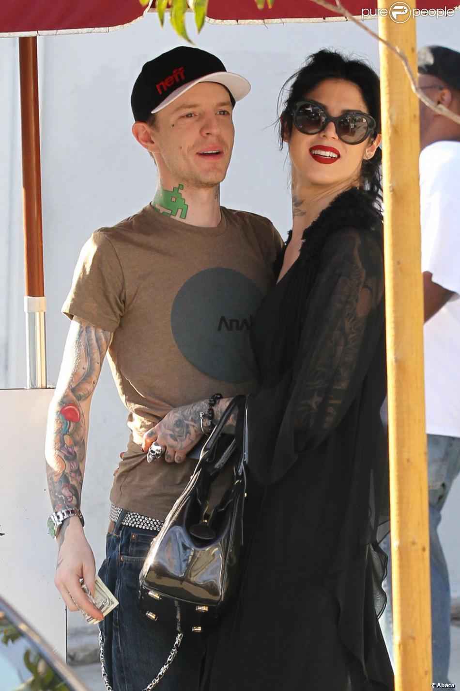 Deadmau5 et Kat von D le 18 octobre 2012 à Los Angeles