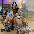 Ke$ha chante à l'émission Today Show à New York, le 23 novembre 2012.