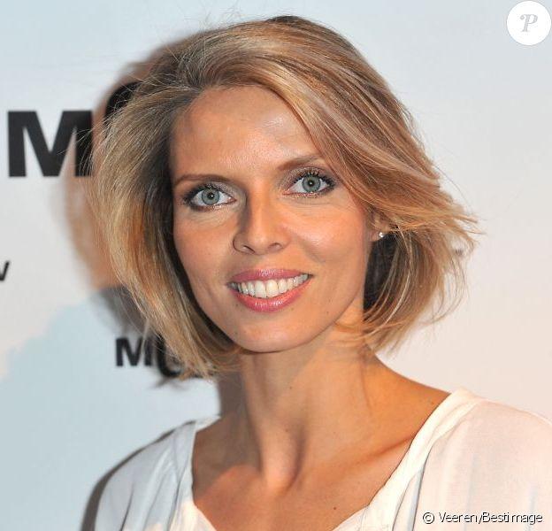 Sylvie Tellier lors du cinquième anniversaire de la chaine MCS (Ma Chaine Sport) à la Gaîté Lyrique à Paris le 17 Décembre 2012